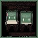 【ソーシャルディスタンス】椅子カバー 10枚入