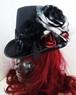 赤×黒薔薇トールハット