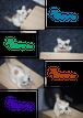 羊毛フェルトの猫です