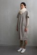 KUNYU wool linen -light gray-