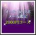 通常メール鑑定 2000円コース