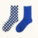 METAL SOX (1.5DOT) BLUE X GOLD