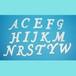 アルファベット80ミリ(レギュラー)【ユリシス・シート】