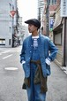 【ORDINARY FITS】DENIM COVERALL 3rd/OF-J027