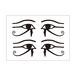 シルエットシール ラーの目・ウジャトの目
