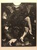 生熊奈央 銅版画「crystal」27.5×22.5cm (四つ切額付) エッチング /エディション5/30(2016)