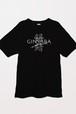 GINSABA Tシャツ・胸(ブラック)