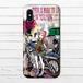 #016-008 iPhoneケース スマホケース iPhoneXS/X ロック かわいい おしゃれ 女の子 Xperia iPhone5/6/6s/7/8 ARROWS AQUOS Galaxy タイトル:ブレーメン~パターン1~ 作:nero