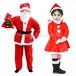 予約 コスプレ服 キッズ用 サンタクロース クリスマスパーティー 子供用 こども用 男の子 女の子 コスプレ衣装 コスチューム ハロウィン 秋 冬 かわいい ふわふわ サンタコス サンタコスチューム クリスマス衣装 ch1022