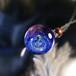 きらめくガラスの宇宙ペンダント/【訳あり品】20201110