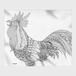 めがね拭き:kazue.M_014「鳥」