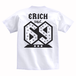 ERICH / NUMBER 69 T-SHIRT WHITE