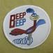 Racing Wappen Road Runner BEEP BEEP Round