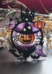 ハロウィンの切り絵  マジョコとスケアクロー
