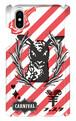 (iPhoneX)【ラム ストライプ】羊フェスタ公式スマホケース