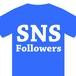 SNS follower フォロワーさん限定。Tシャツを感謝価格で!