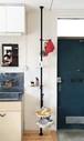 【予約販売】玄関と台所の間 SET ブラック 取付寸法200~275cm[3月下旬発送予定]
