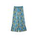 FLOWER MOTIF PANTS BLUE [TN18SS013]