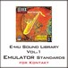 E-MU Sound Library Vol.1 Emulator Standards for Kontakt