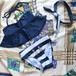 marine bikini ヘアバンド付き 再販