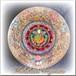 特大!オルゴナイトサークルプレート*Maria Rose Holy geometry Plate*