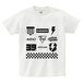 avenomix / MULTI ICON T-SHIRT WHITE