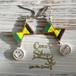 ◆SALE ¥300 OFF◆ Cute Ribbon  Pierce -Flag of Jamaica-