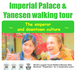 Imperial Palace & Yanesen walking tour ~The Emperor and downtown culture ~