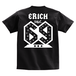 ERICH / NUMBER 69 T-SHIRT BLACK