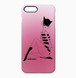 iphoneケース 仮面猫桃 IP0201 catmask pink