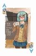 ハンバーガーちゃん(絵日記版)『MIXTRUMP』シングルマークシリーズ