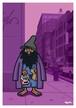 《山本周司 イラストポストカード》CY-24/ 裸足の男