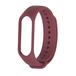 Xiaomi Band3/ Band4 用 交換カラーバンド:ワイン