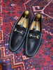 .GUCCI LEATHER HORSE BIT LOAFER MADE IN ITALY/グッチレザーホースビットローファー 2000000048956