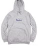 BUTTER GOODS CLASSIC LOGO PULLOVER HOOD HEATHER GREY