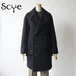 SCYE/サイ・Wool And Cashmere Melton Cape Coat