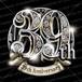 39周年PSD素材 エンブレム仕様。豪華でキラキラPhotoshop素材で周年を彩ろう!