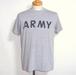 1970's U.S.ARMY 霜降りグレーフィジカルTシャツ 実寸(M~L)