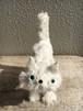 minimini cat(WH)小さな白猫ぬいぐるみ