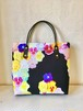 Pansy / square bag