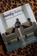 洋書 インテリア ハードブック family living イギリス