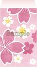 ポチ袋《こぼれ桜》