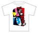 VIVIAN BOYS white T-shirts
