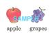 【超お得!】Fruits 絵+英単語 フラッシュカードデータ(カラー)