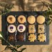 EDIBLE FLOWER & HERBAL COOKIES SET【12枚入り】