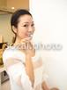 歯を磨く女性 /人物写真素材(sayuri-240183)