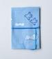 [C(水色地)]みずうちさとみさんの「天然生活手帖用オリジナル手帖カバー」布製【限定2個】
