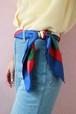 Celine carriage silk scarf