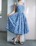 50's summer dress