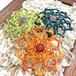 新色追加!天然石のマクラメ編みヘアピン/ダリア